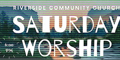 Copy of Saturday Evening Worship Service tickets