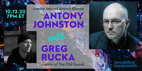 Antony Johnston with Greg Rucka: The Exphoria Code tickets