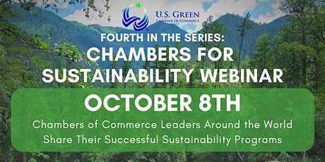 4th Chambers for Sustainability Webinar tickets