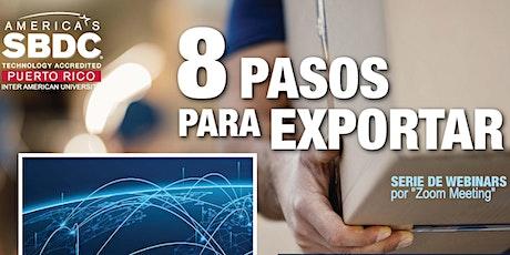 8 Pasos para Exportar boletos