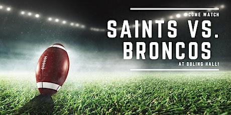 Saints vs. Broncos tickets