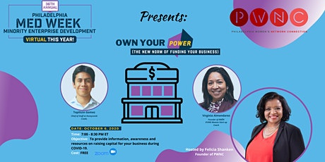 Own Your Power (The New Norm of Funding Your Business) tickets