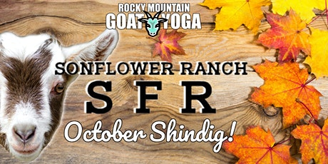 Goat Yoga - October 10th (SonFlower Ranch) tickets