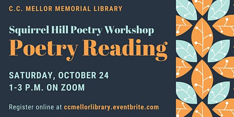 Squirrel Hill Poets Poetry Reading tickets