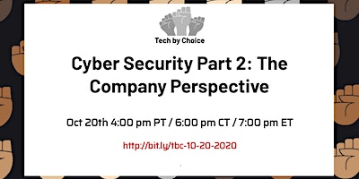 Cyber Security Part 2: The Company Perspective logo