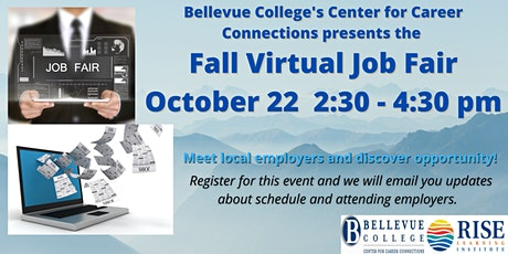 Bellevue College Virtual Fall Job Fair tickets