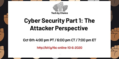 Cyber Security Part 1: The Attacker Perspective logo