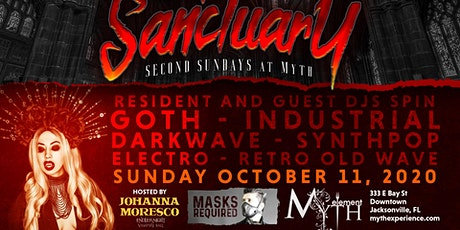 Second Sunday Sanctuary at Myth Nightclub   10.11.20 tickets