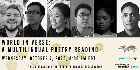 World in Verse: A Multilingual Poetry Reading tickets