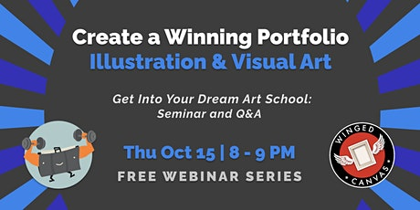 Create a Winning Portfolio - Illustration & Visual Art tickets
