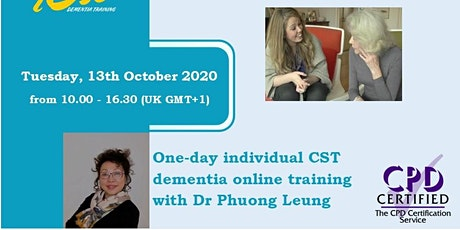 Individual Cognitive Stimulation Therapy (iCST) Dementia Online Training tickets