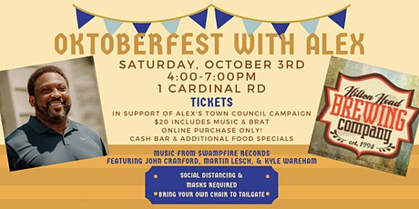 Oktoberfest with Alex at Hilton Head Brewing Company tickets