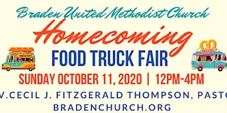 Braden UMC Homecoming Food Truck Fair tickets