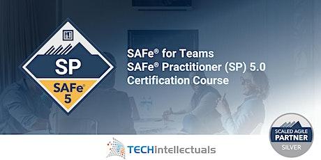 SAFe for Teams / SAFe Practitioner Certification - Live Online Training tickets