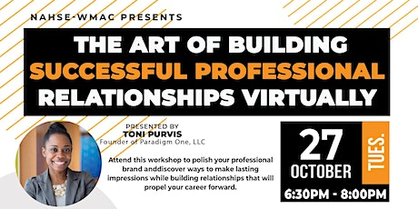 The Art of Building Successful Professional Relationships Virtually tickets