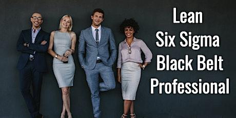 Certified Lean Six Sigma Black Belt Certification Training San Jose tickets