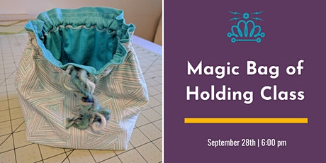 Magic Bag of Holding Class tickets