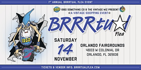 BRRRTUAL FLEA tickets