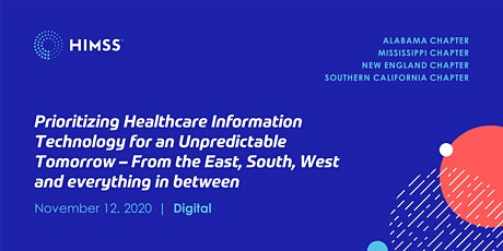Prioritizing Health IT for an  Unpredictable Tomorrow tickets