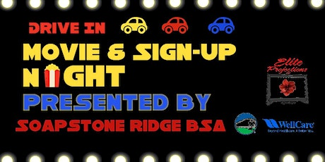 Drive-In Movie Cub Scout Sign-up Night! (Virtually, too) tickets