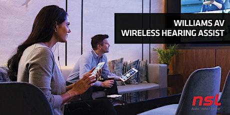 Williams AV Wireless Hearing Assist | Auckland tickets
