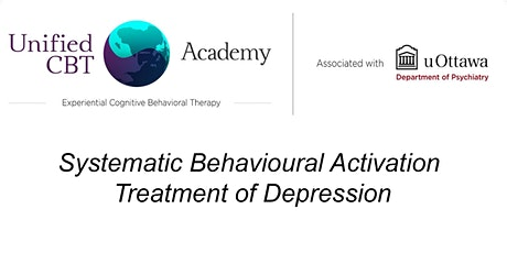 Systematic Behavioural Activation Treatment of Depression tickets