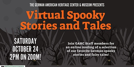 Virtual Spooky Stories and Tales tickets