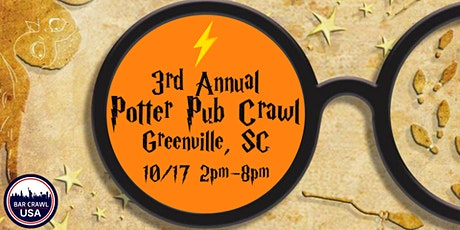 3rd Annual Potter Crawl: Greenville, SC tickets