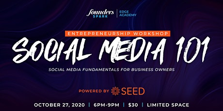 Edge Academy | Social Media 101 tickets