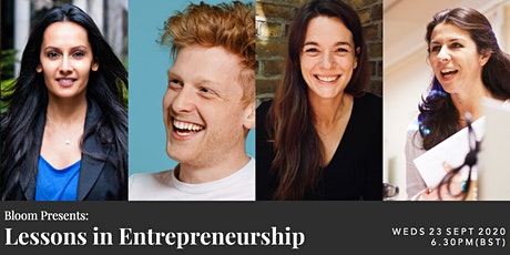 Bloom Presents: Founders Panel - Lessons in Entrepreneurship tickets