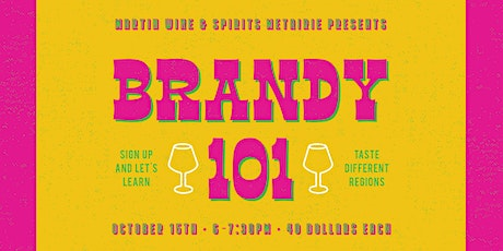 Brandy 101 tickets