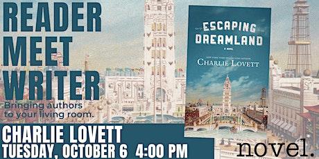 READER MEET WRITER: CHARLIE LOVETT tickets