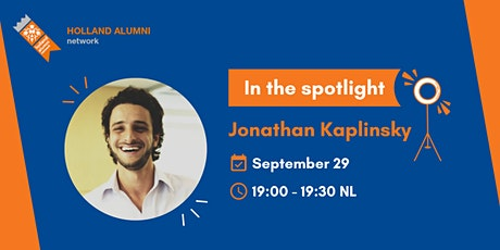 In the spotlight: Jonathan Kaplinsky tickets