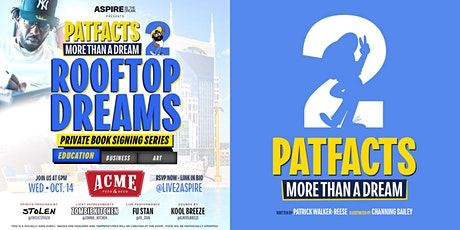 Patfacts 2: More than a Dream Book Signing Series - Education Edition tickets