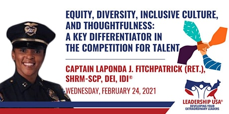 Equity, Diversity, Inclusive Culture, Thoughtfulness: A Key Differentiator tickets