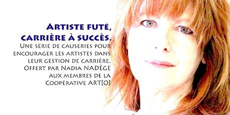 ARTO ATELIER : ARTISTE FUTÉ, VIVRE DE MON ART ? tickets