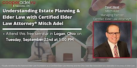 Understanding Estate Planning with Certified Elder Law Attorney* Mitch Adel tickets