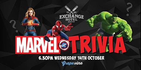 In Venue: MARVEL Trivia at Exchange Hotel KILCOY tickets