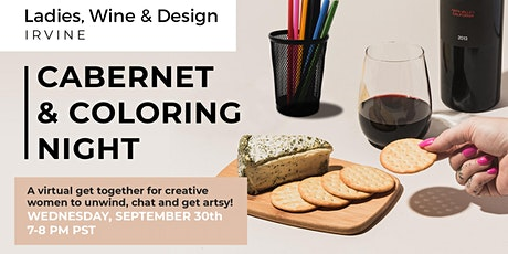 Cabernet & Coloring Night with Ladies, Wine & Design tickets