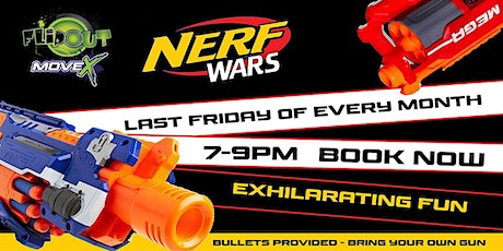 Nerf Wars at Flip Out / Move X! tickets