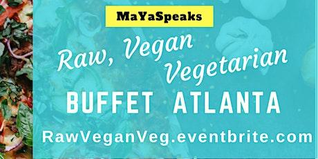 Raw Vegan Vegetarian Buffet tickets