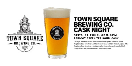 Town Square Cask Beer & Market Series Can Launch  @ the Common (109st) tickets