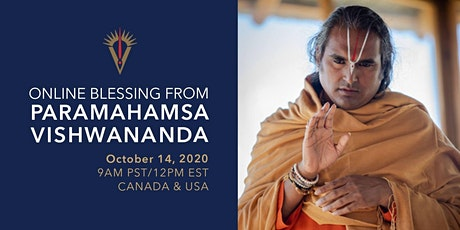 Online Blessing with Paramahamsa Vishwananda for USA & Canada tickets