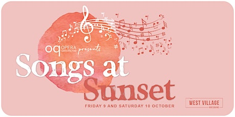 Songs at Sunset tickets