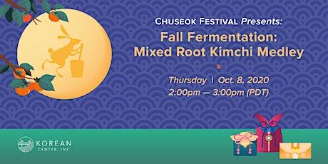 Fall Fermentation: Mixed Root Kimchi Medley tickets