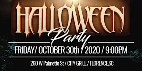 WF C/O 2015 1 annual Halloween party tickets