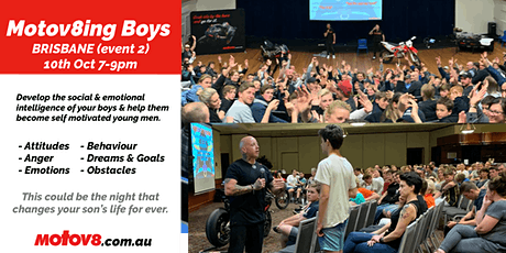 Motov8ing Boys - Brisbane (event 2) tickets