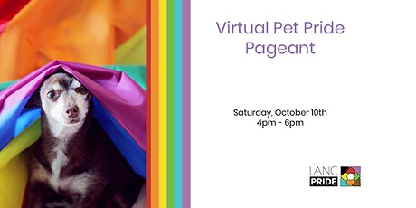 2020 Virtual Pet Pageant tickets