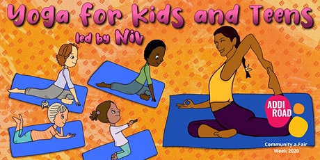 Yoga with Niv for children up to 12 years tickets
