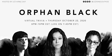 Orphan Black Virtual Trivia tickets